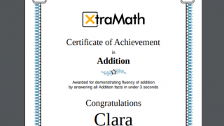 Teachers and parents can easily print personalized certificates to celebrate progress.