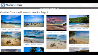 On Photos for Class, a simple search yields hundreds of classroom-ready photos.