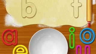Use vowels from Tiggly Words or touch vowels on-screen.
