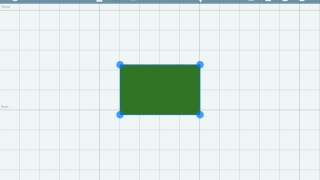Kids can use grid paper to create shapes.