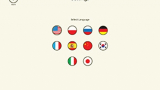 Several language options are available.
