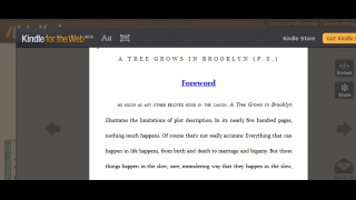 Shelfari lets users read any first chapter for free.