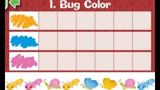 Chart bugs by color, size, and more.