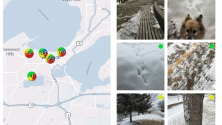 View Siftr collections by map or image gallery.