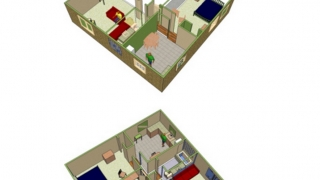 After building a house, design the interior