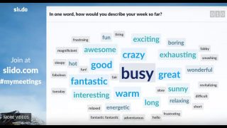 Word clouds provide a neat visual starting point for class discussions.