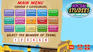 Students choose 5 of 15 subjects and up to six players/teams.