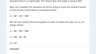 Many math problems present step-by-step explanations for solutions.
