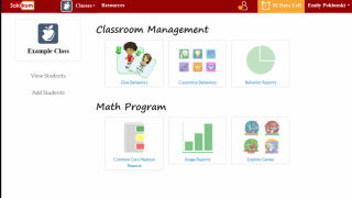 JumpStart Academy is a common core math program in addition to a behavior management program.