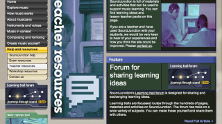 Some teacher resources, like the educational articles, will be more useful than others; the forum, for example, doesn't seem to be very actively used.