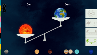 Compare the mass of the sun and different planets.