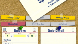 Premade quizzes and make-your-own custom quizzes.