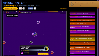 Students can publish games they create.