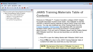 Users can access resources for training.