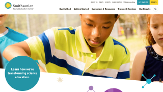 The SSEC's beautiful site supports changing science teaching practices.