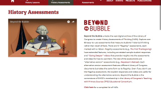 Beyond the Bubble provides assessments that help demonstrate students' thinking processes.