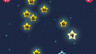 Customize the level of help; the star next in order will flash after the chosen amount of time passes.