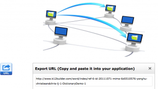 Direct URLs to content can be easily exported for use on other websites and blogs.