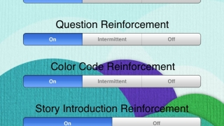 Three levels and many settings options customize the user experience.