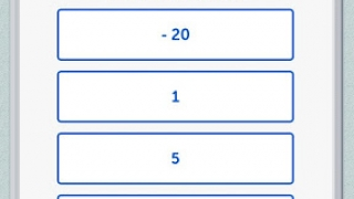 A multiple-choice quiz question with Hint, Paper, and Ask buttons at top. Eight green checks at bottom show eight correct answers and two more to go.