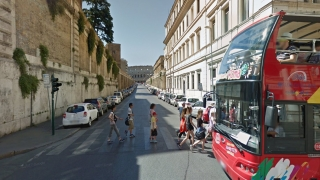 Street View offers a high-resolution view of many of the streets in the world.