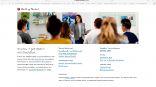 There are extensive resources to help teachers and students use the platform's many features.