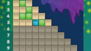 Kids earn blocks for answering problems correctly.