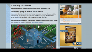 Anatomy of a Scene illustrates details and ideas from each of the featured plays.
