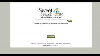 The site links to SweetSearch4Me, a simple search engine for elementary school students.