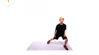 Kids demonstrate the exercises in a clear manner, and the app also can tell you which exercise will be next.