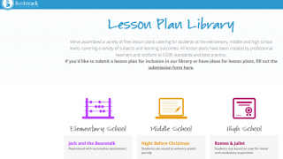 Teachers can utilize the lesson-plan library.