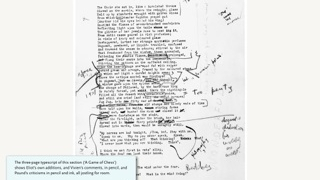 View the original manuscript with notes from Ezra Pound.