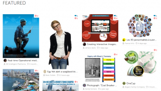 The Browse tab offers links to images created daily and weekly -- for inspiration.
