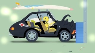 A short animation shows how a crash test works.