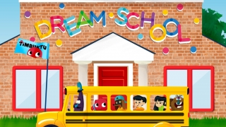 Tap on the bus to enter the schoolhouse and get started.
