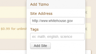 Adding a tizmo is a pretty simple process.