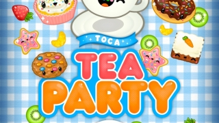 Bright, colorful tea party accessories and foods capture kids' interest.