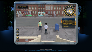 Users can explore New York City.