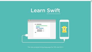 Treehouse also includes instruction on learning Swift, an iOS and OS X programming language.