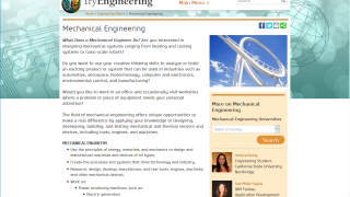 The more common engineering fields give students a detailed overview of the career path.