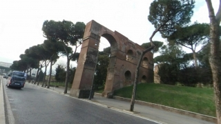 The aqueduct today