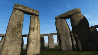 This experience allows students to see Stonehenge at different points in time.