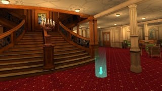 The Titanic experience has great details and narration, with a bit of free exploring.
