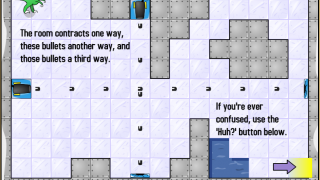 Get to the end of the level while avoiding obstacles.