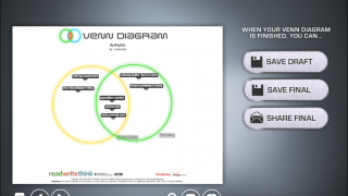 Students can save their diagrams as pdfs and share them via email.