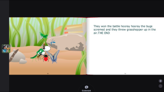 Younger students can also find read-alouds to view without commenting.