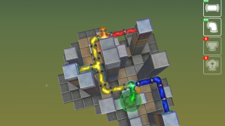 The second set of puzzles adds the complexity of combining colors.