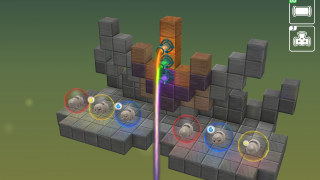 The third set of puzzles adds separating colors.