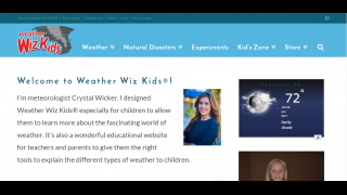 Tools for parents and teachers to get kids excited about weather.