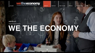 Twenty short films raise awareness and understanding of the economy.